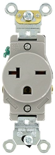 Leviton 5461gy 20 250 Volt Industrial Heavy Duty Grade. This Button Opens A Dialog That Displays Additional S For Product With The Option To Zoom In Or Out. Wiring. 250 Volt Single Outlet Wiring At Scoala.co