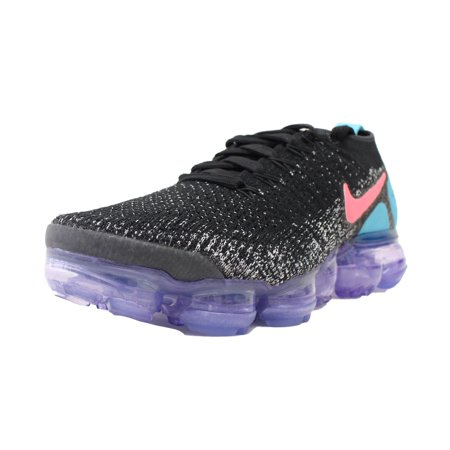 WOMENS NIKE AIR VAPORMAX FLYKNIT 2 HOT PUNCH BLACK WHITE PINK 942843 003