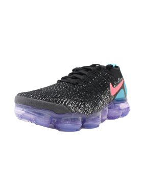 Product Image WOMENS NIKE AIR VAPORMAX FLYKNIT 2 HOT PUNCH BLACK WHITE PINK  942843 003 cffe09b9f