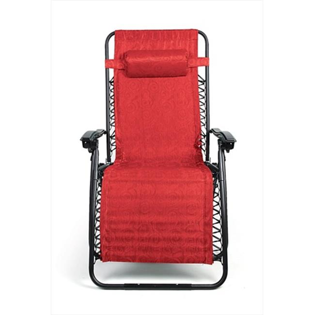 51833 Zero Gravity Chair - Large Red