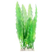 Unique Bargains Aquarium Fish Tank Plastic Artificial Plant Aquatic Grass Decoration Green 40cm
