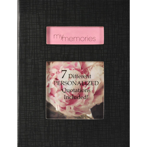Pinnacle Frames and Accents 1Up Brag Personalized Photo Album