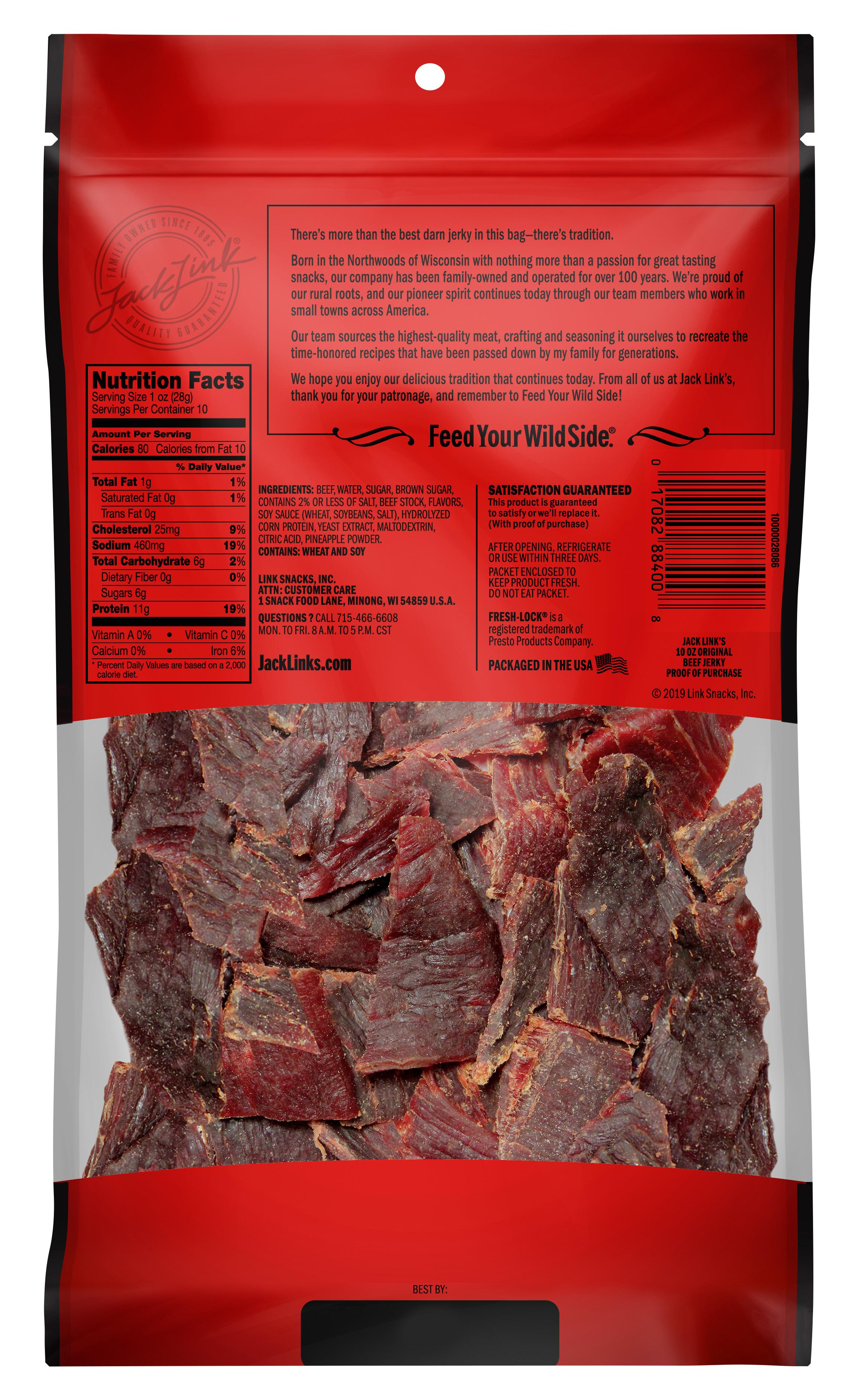 beef jerky dash diet