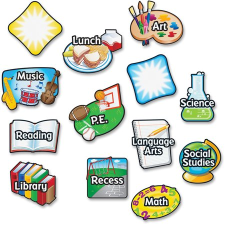 Learning Resources Magnetic Subject Labels
