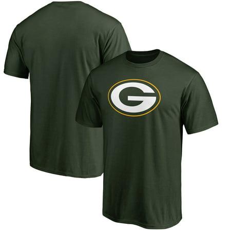 Green Bay Packer Logo (Green Bay Packers NFL Pro Line Primary Logo T-Shirt -)