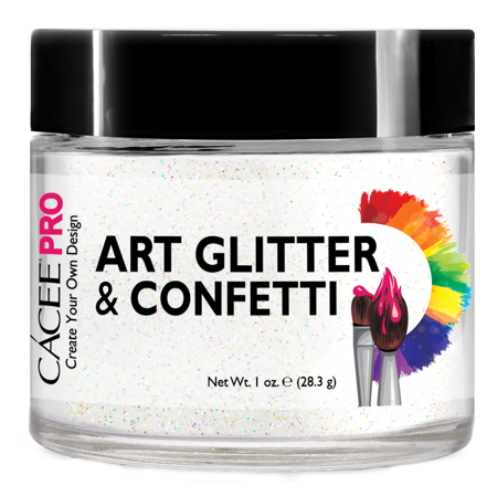 Nail Glitter 1 oz by Cacee Art & Confetti (Holographic, Silver, Gold, Chunk, Irridescent, Dust, Unicorn) for Nail Art, Cosmetic, Festivals, and Party](Black And Purple Halloween Nail Art)