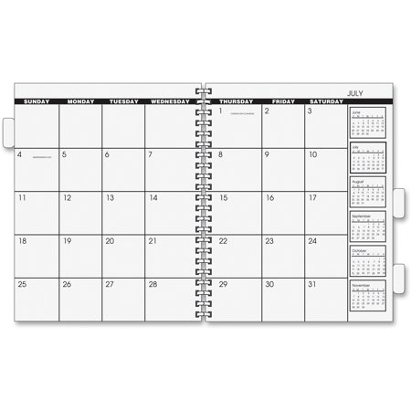 at a glance aag7092378 monthly refill for 3 year 5 year planner 1