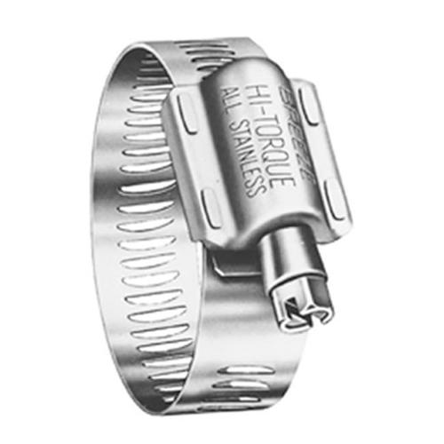 Norma Group/Breeze HP3 Hose Clamp, Hi-Torque, Stainless Steel,  2-1/8 - 4- 1/8-In.