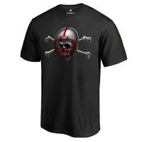 Nebraska Cornhuskers Midnight Mascot Blackshirts T-Shirt - Black