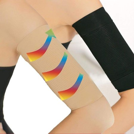 Beauty Women Slimming Arm Shaping Massager Sports Protect Belt 2 Pairs