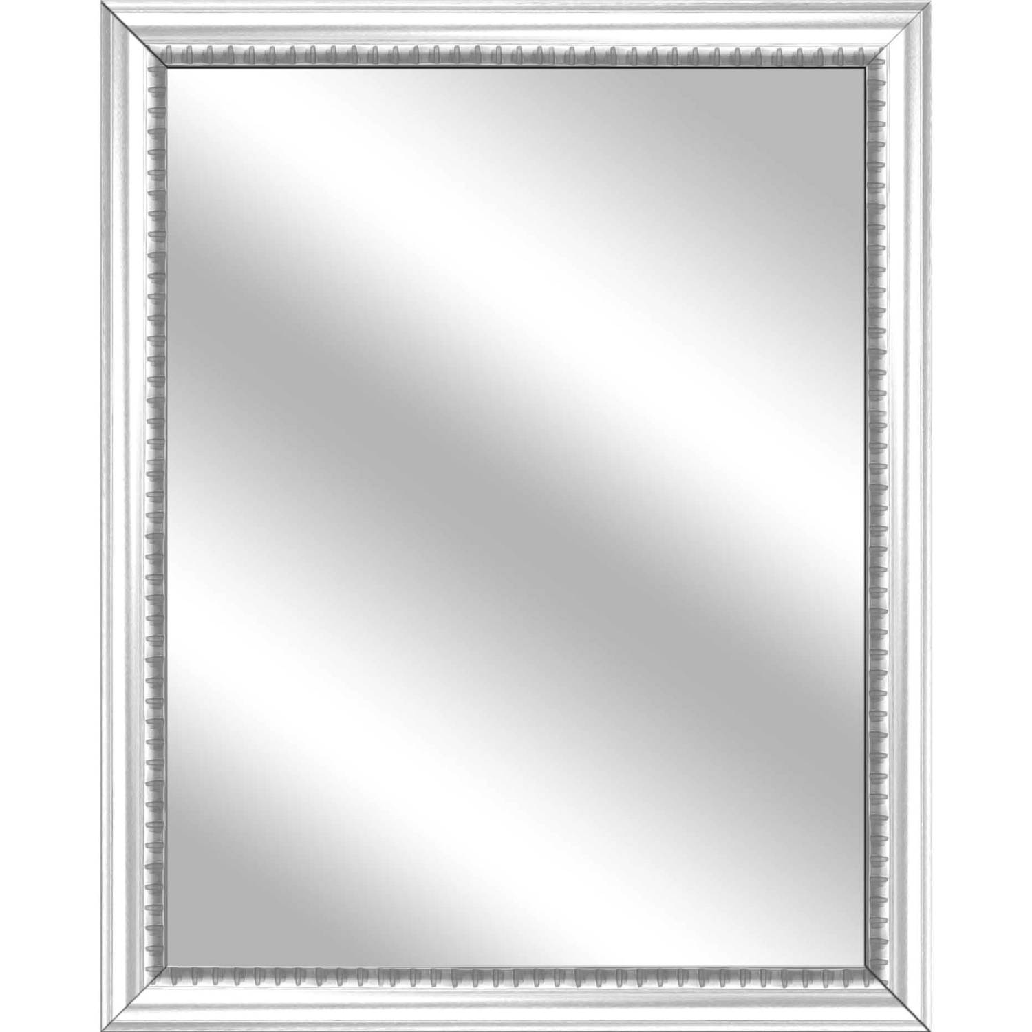 Vanity Mirror, White, 25x31 by PTM Images