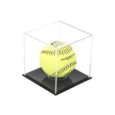 Deluxe Clear Acrylic Softball Display Case (A081-SB)