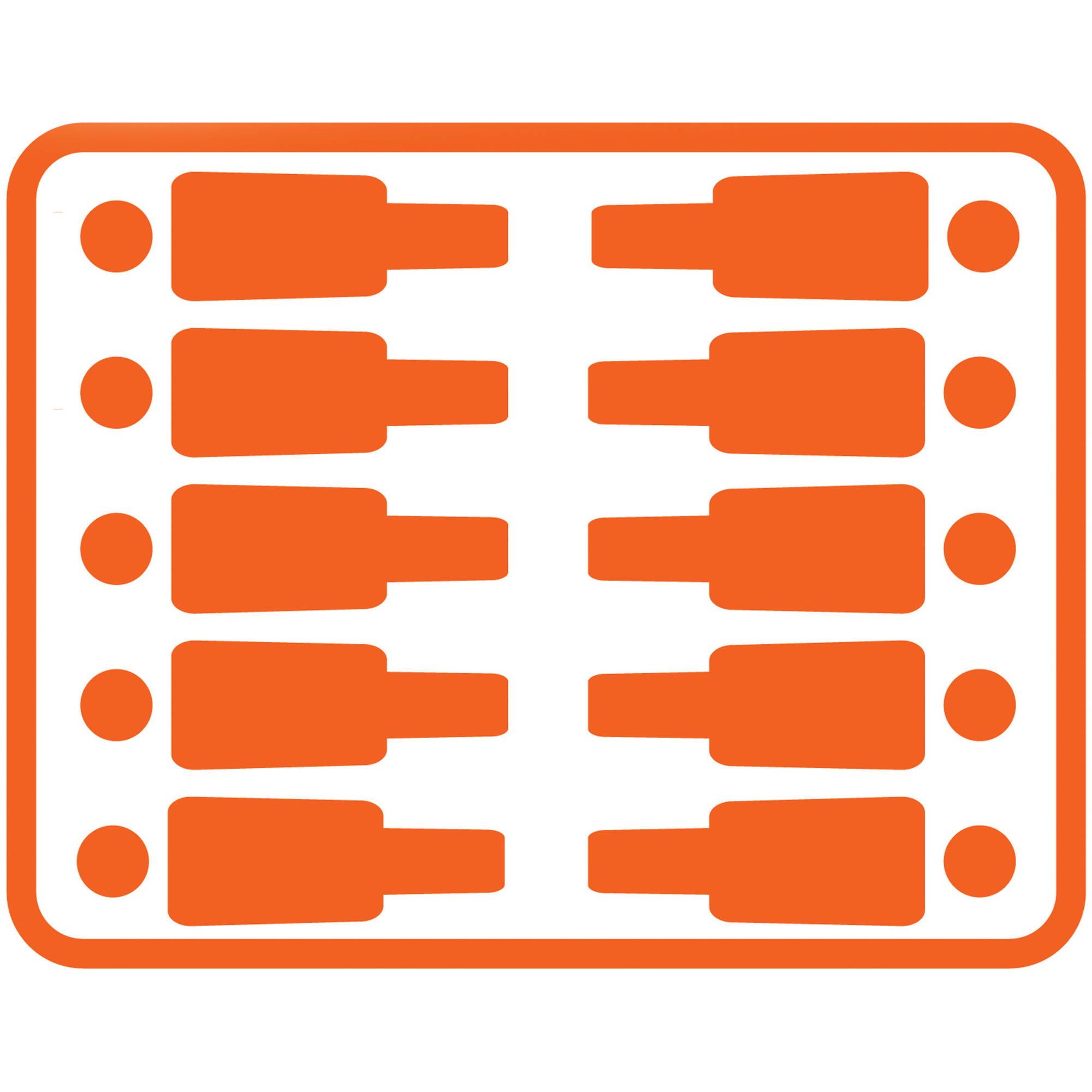 sc 1 st  Walmart & Ozark Trail 14u0027 x 10u0027 Orange Instant Cabin Sleeps 10 - Walmart.com