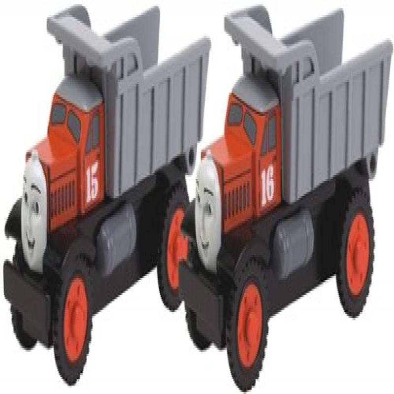 Thomas And Friends Wooden Railway Max And Monty the Dump Trucks by