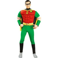 """Batman and Robin Deluxe Muscle Chest """"Robin"""" Adult Halloween Costume"""