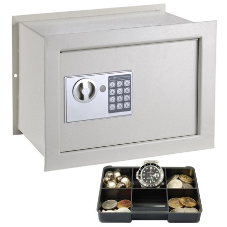 Yescom In Wall Inground Electronic Flat Safe Box Digital