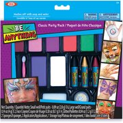 POOF-Slinky Ideal Be Anything! Classic Party Pack Face Painting Kit, 8-Color Set