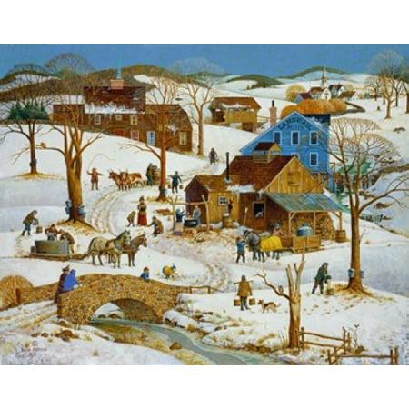Sugarin Time Stretched Canvas - Bob Pettes (16 x 12) ()