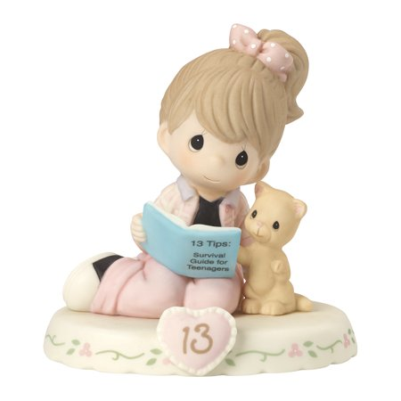 Precious Moments Growing Grace Age Thirteen Brunette Porcelain Figurine