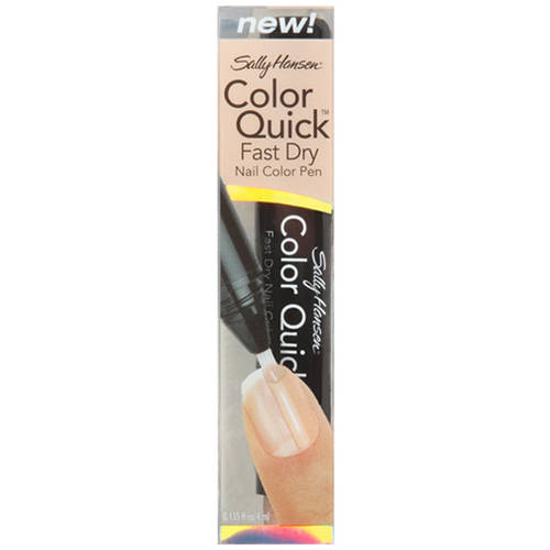 Sally Hansen Color Quick Fast Dry Nail Color Pen, 10 Sand Shimmer, 0.135 fl oz