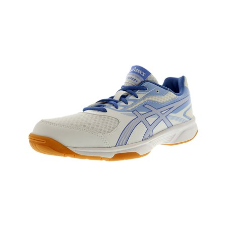 - Asics Women's Upcourt 2 White / Regatta Blue Airly Ankle-High Volleyball Shoe - 10.5M