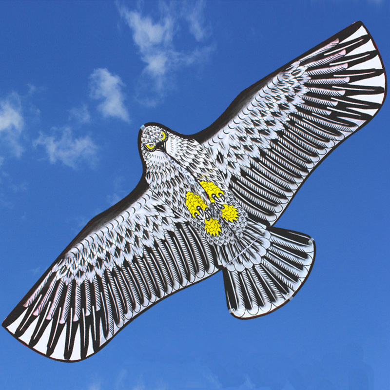 Ktaxon 1.5m Huge Strong Eagle Kites Single Line Novelty Animal Kite for Kids and Adults Toys