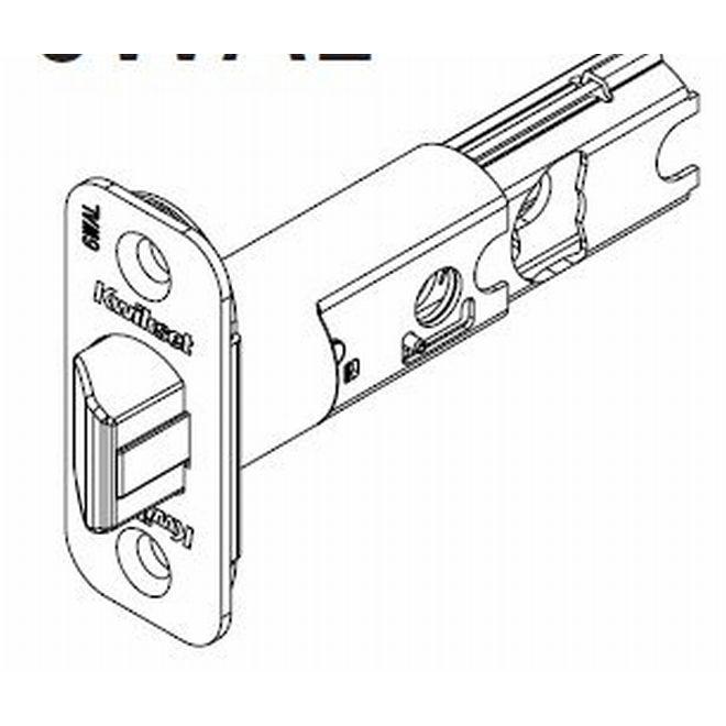 Kwikset 83000-11P 6-Way Adjustable Deadlatch for Halifax and Milan Venetian Bronze Finish