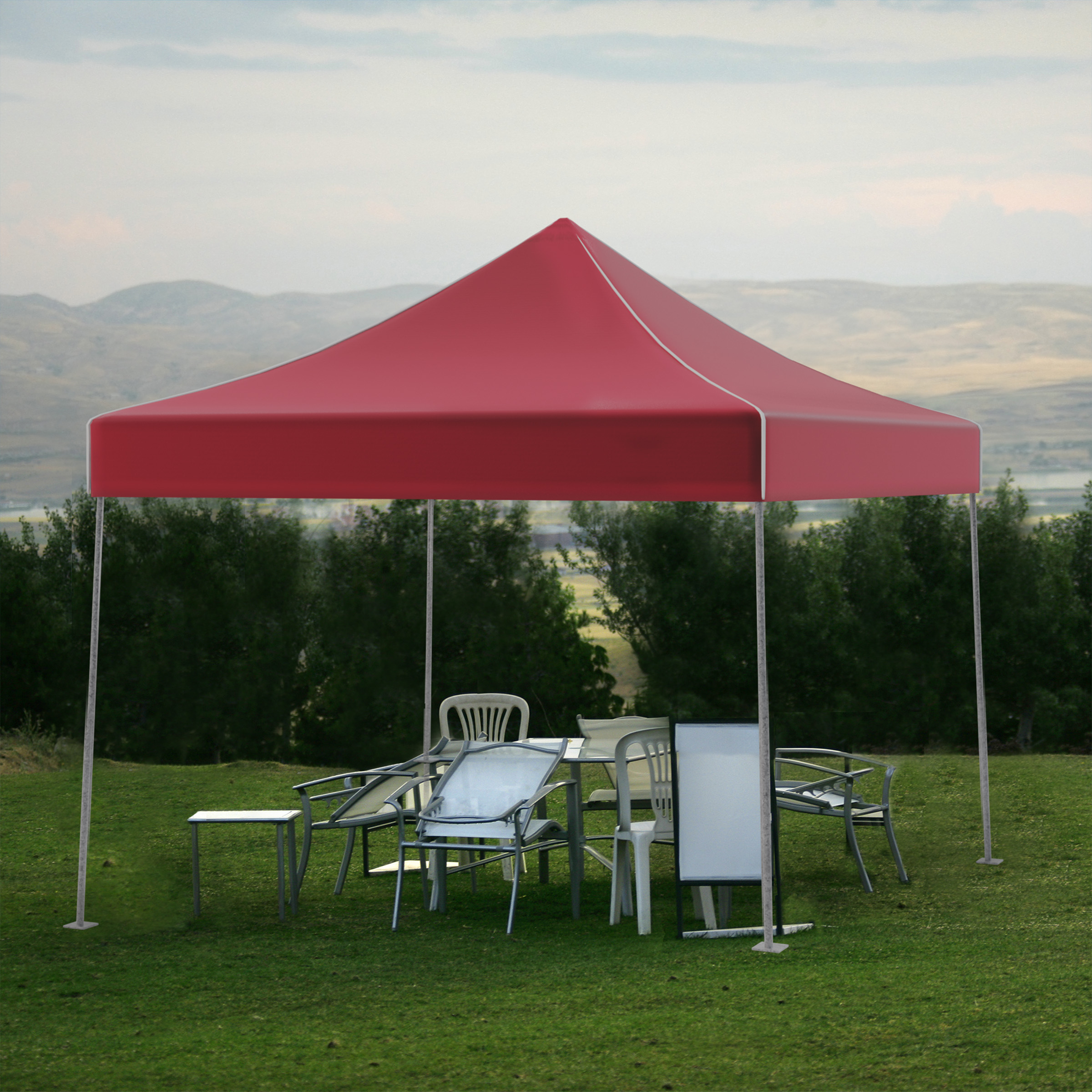 Impact Instant Canopy Tlkit 10 Ft W X D Steel Pop. 10 X Tents & Stalwart Pop Up Instant Canopy Tent 10 X Red - Best Tent 2018