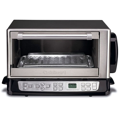 Cuisinart CTO 390PC Exact Heat Black Toaster Oven Broiler from