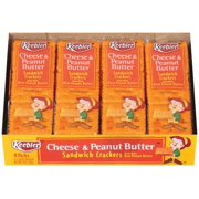 Keebler Cheese & Peanut Butter Snack Sandwich Crackers, 1.38 Oz., 8 Count