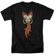 Samurai Jack Cartoon Network Cartoon Series Aku Face Adult T-Shirt Tee