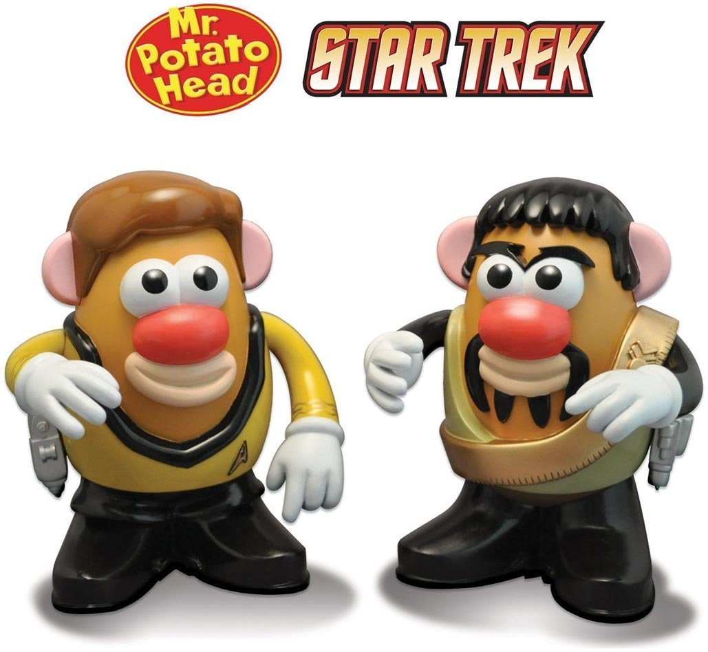 Kirk And Kor Mr. Potato Head, Kirk and kor star trek Mr. Potato head By Star Trek by