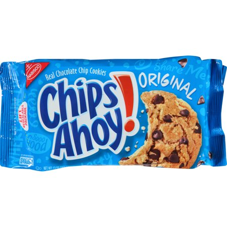Halloween Chocolate Chip Spider Cookies ((2 Pack) Chips Ahoy! Cookies, Original, 13)
