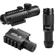 Barska 4x30 IR Electro Sight with Green Laser and Flashlight