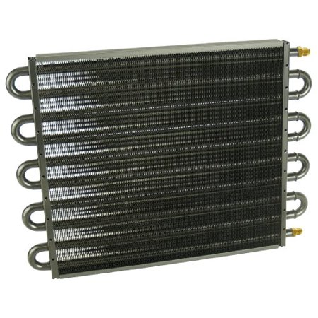 Derale Transmission Pan Coolers (Derale 13315 Series 7000 Tube and Fin Cooler Core )