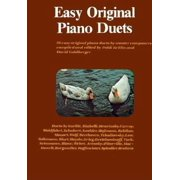 Piano Duets: Easy Original Piano Duets (Paperback)