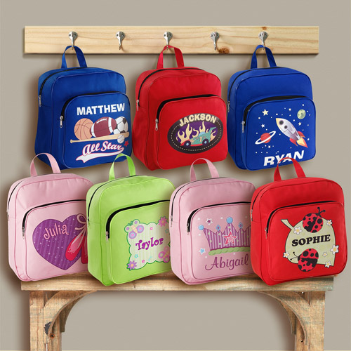 Personalized Small Backpack, Available in 7 Designs