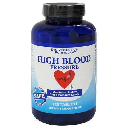 Dr. Venessa's Formulas - High Blood Pressure Support - 120