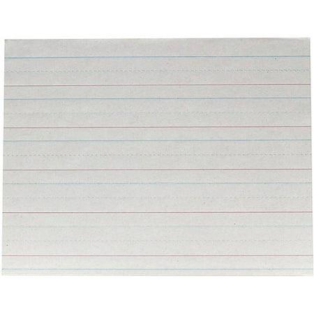 School Smart Long Way Standard Newsprint Paper for Grade K, 8.5