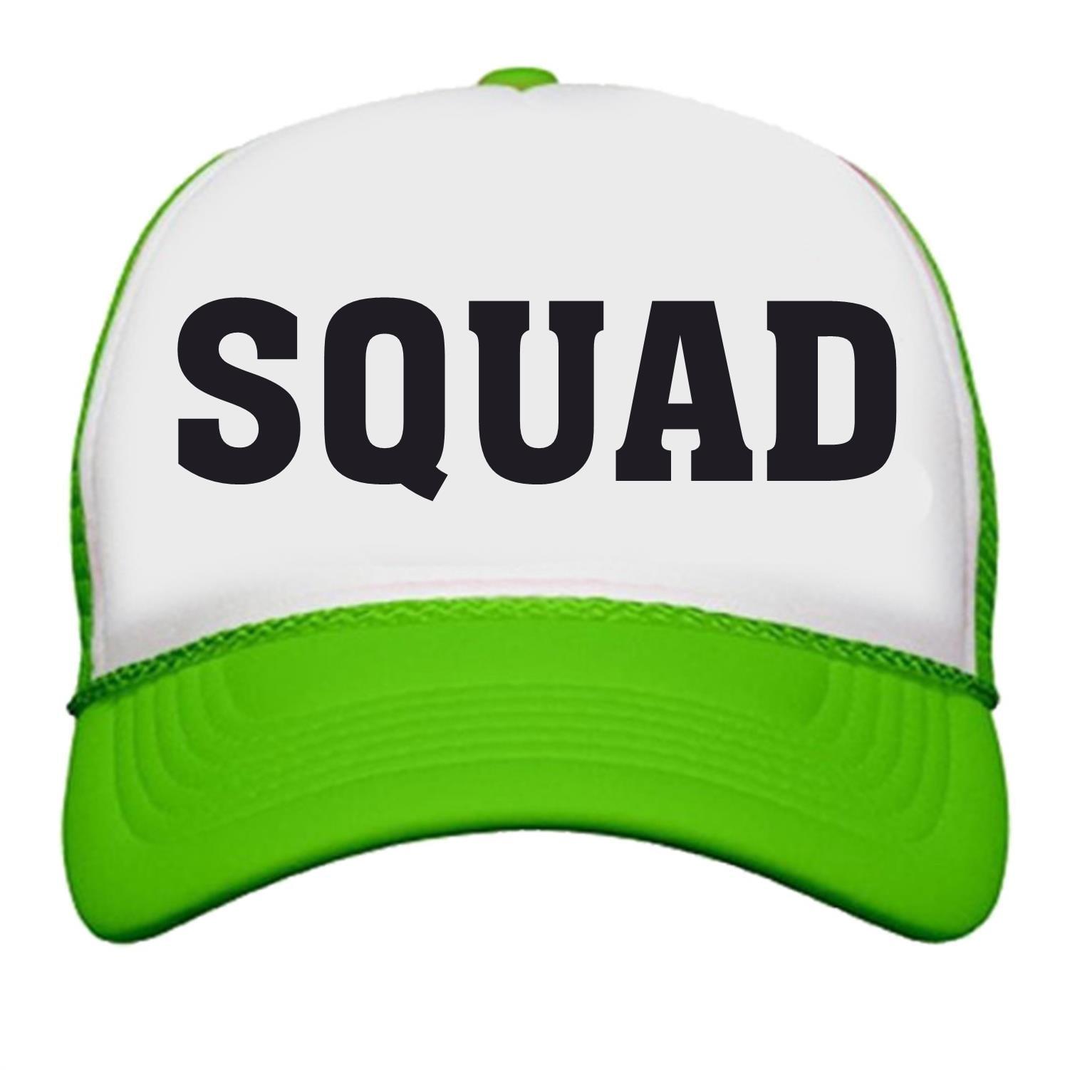 Bride Squad Neon Trucker Snapback Hats Bachelorette Party Wedding Bridel  Party - Walmart.com ee117a2ea9b8