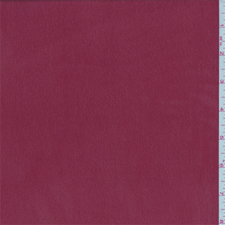 Crimson Red Silk Chiffon, Fabric Sold By the Yard ()
