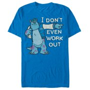 Monsters Inc Men's Sulley I Don't Even Work Out T-Shirt