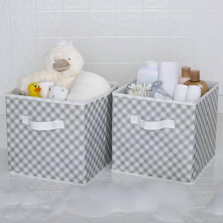 Delta Children 2 Deluxe Water-Resistant Storage Cubes (Kids Online Stores)