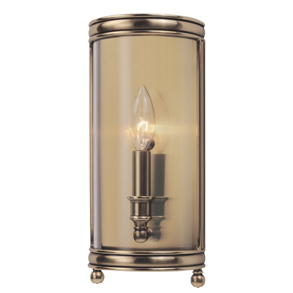 Hudson Valley 7801-AGB 1 LIGHT WALL SCONCE