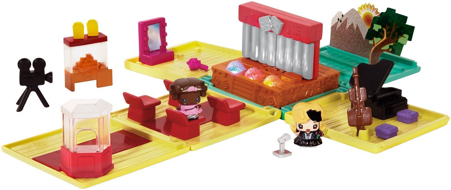 My Mini MixieQ's Theater Deluxe Playset, �Mini music and performance stage with lights and... by