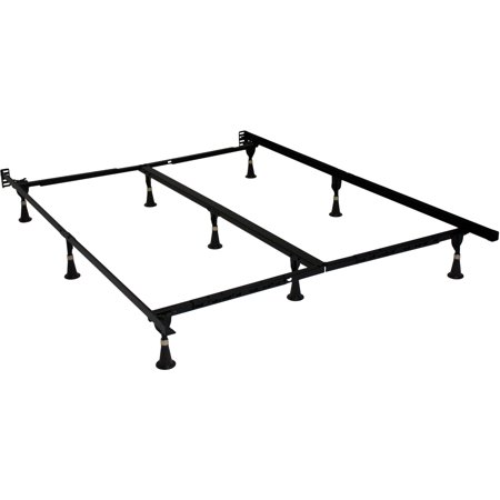 beautyrest studio no tools 75adjustable bed frame high carbon steel construction