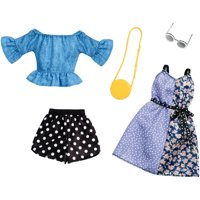Barbie Polka Dot Mix Outfit Fashion Pack with Accessories