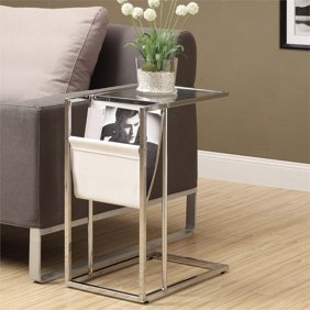 decorative indoor oval firewood standrack wood burner.htm monarch accent table glossy white with chrome metal walmart com  monarch accent table glossy white with