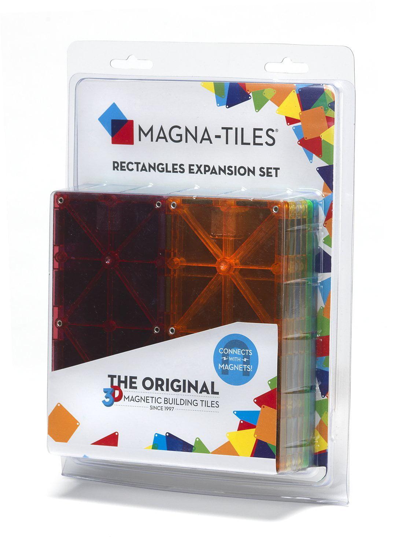 Magna Tiles 15816 Rectangles 8 Piece Expansion Set By