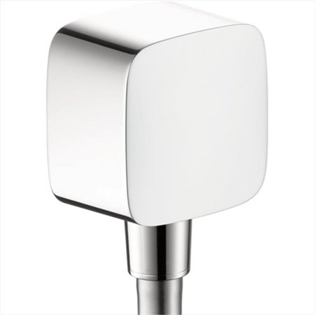 Hansgrohe FixFit Wall Outlet PuraVida with Check Valves in Chrome